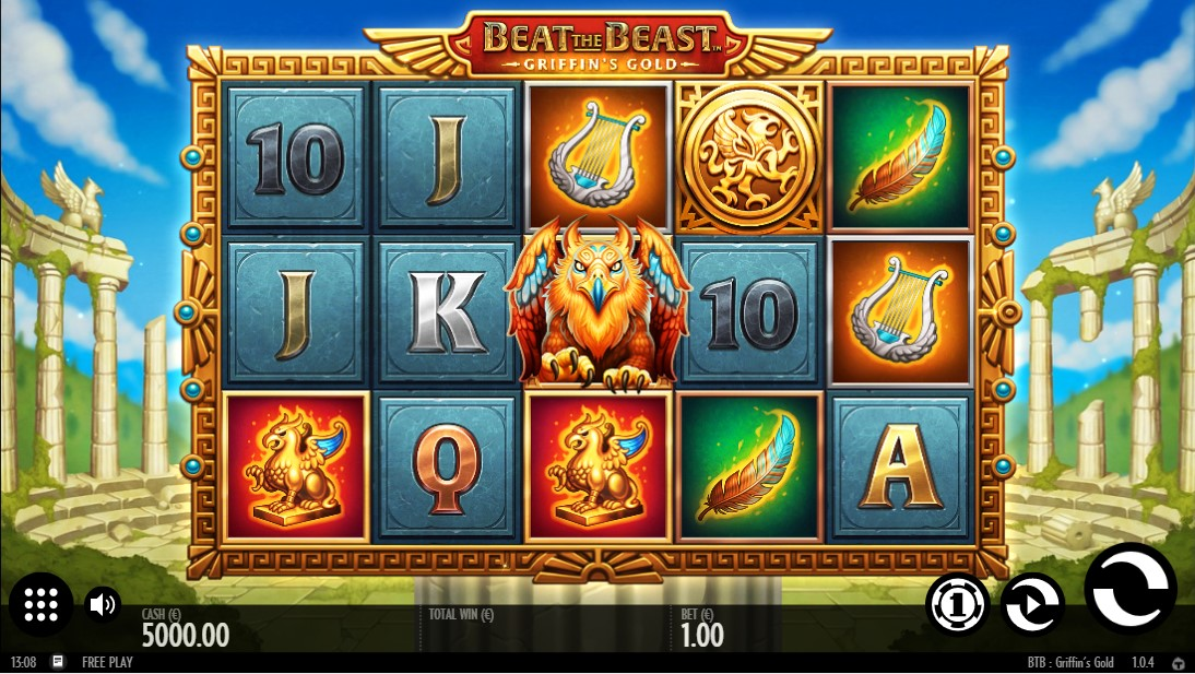 Beat the Beast Griffins Gold free slot