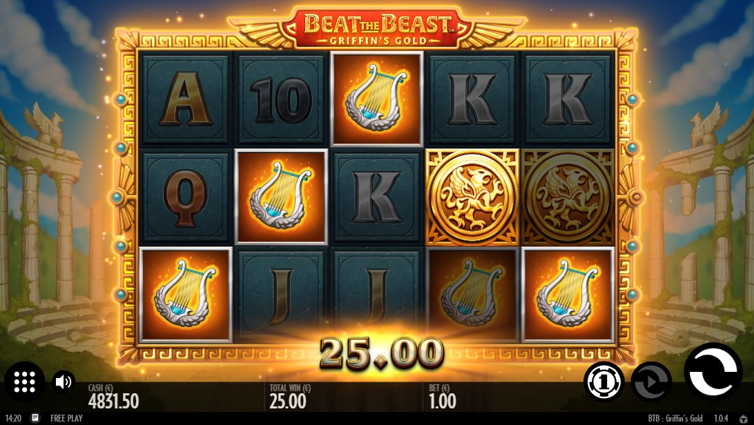 Beat the Beast Griffins Gold онлайн слот