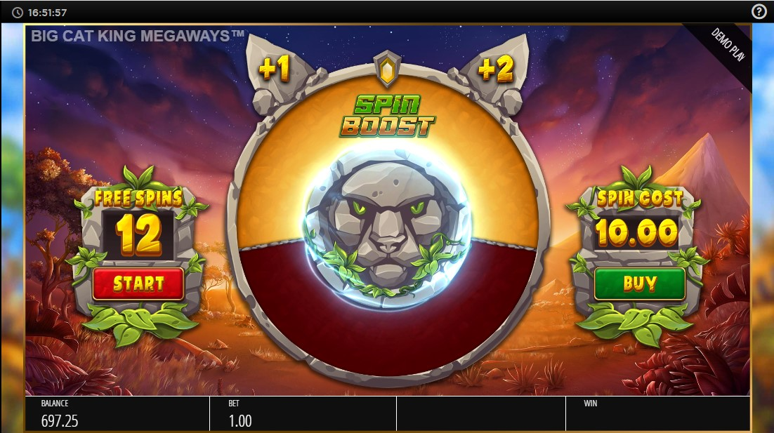 Big Cat King Megaways free slot