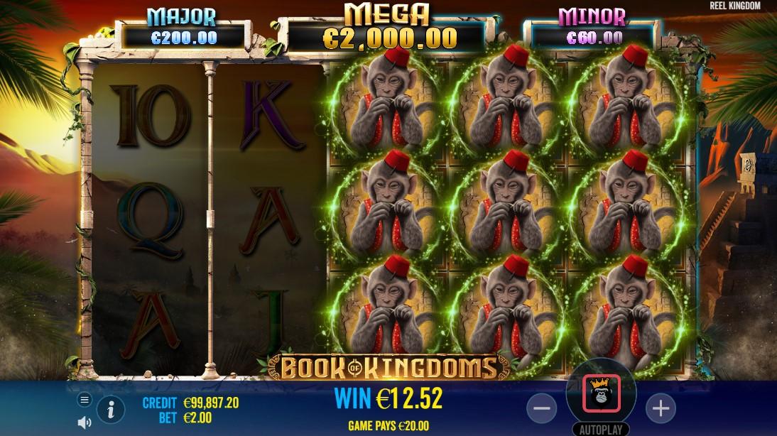 Book of Kingdoms игровой автомат