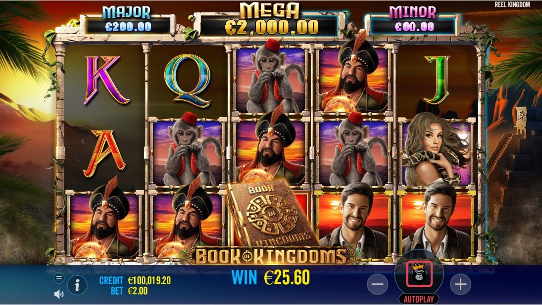Book of Kingdoms free slot