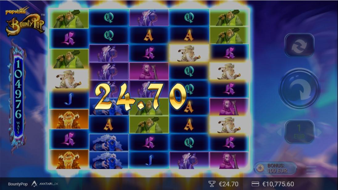 BountyPop игровой автомат