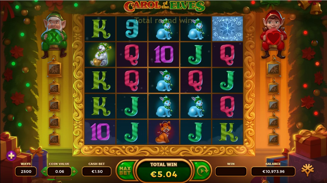 Carol of the Elves free slot