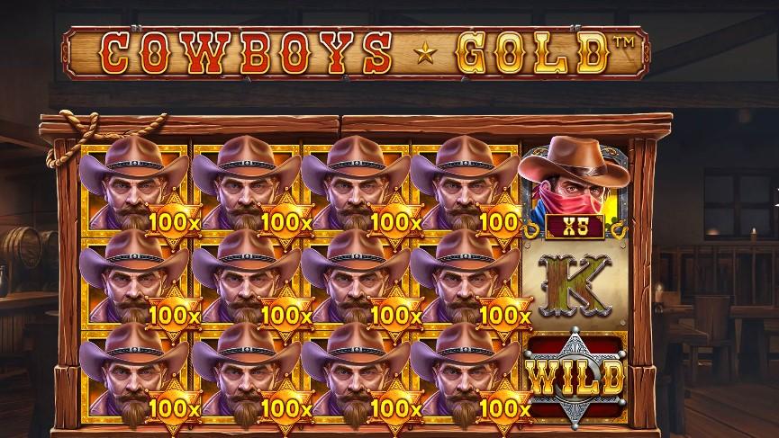 Играть Cowboys Gold бесплатно