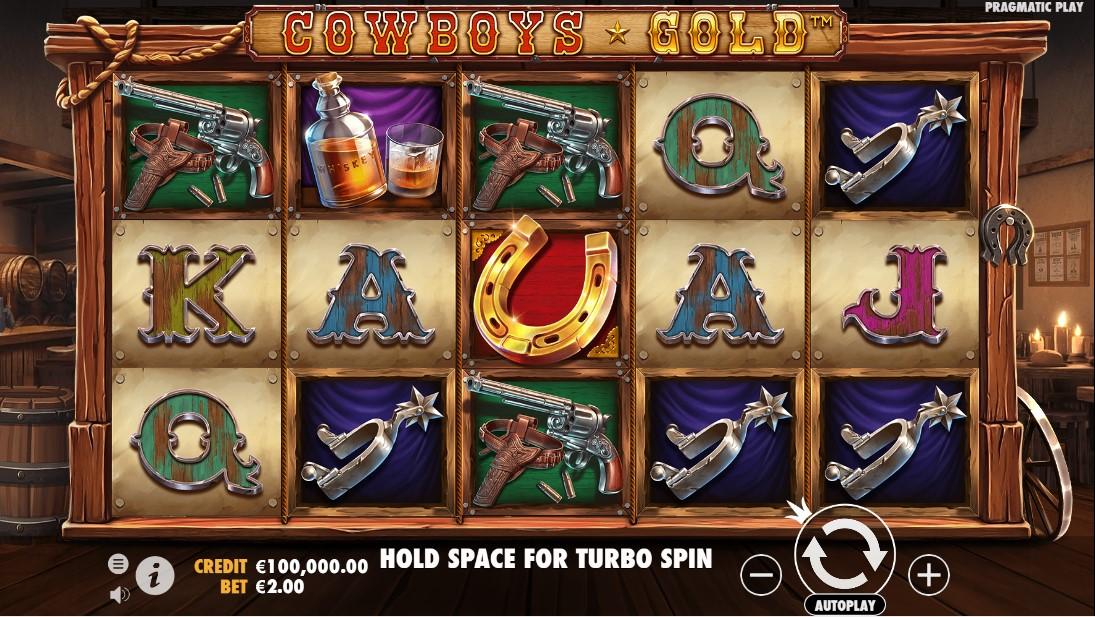 Cowboys Gold онлайн слот