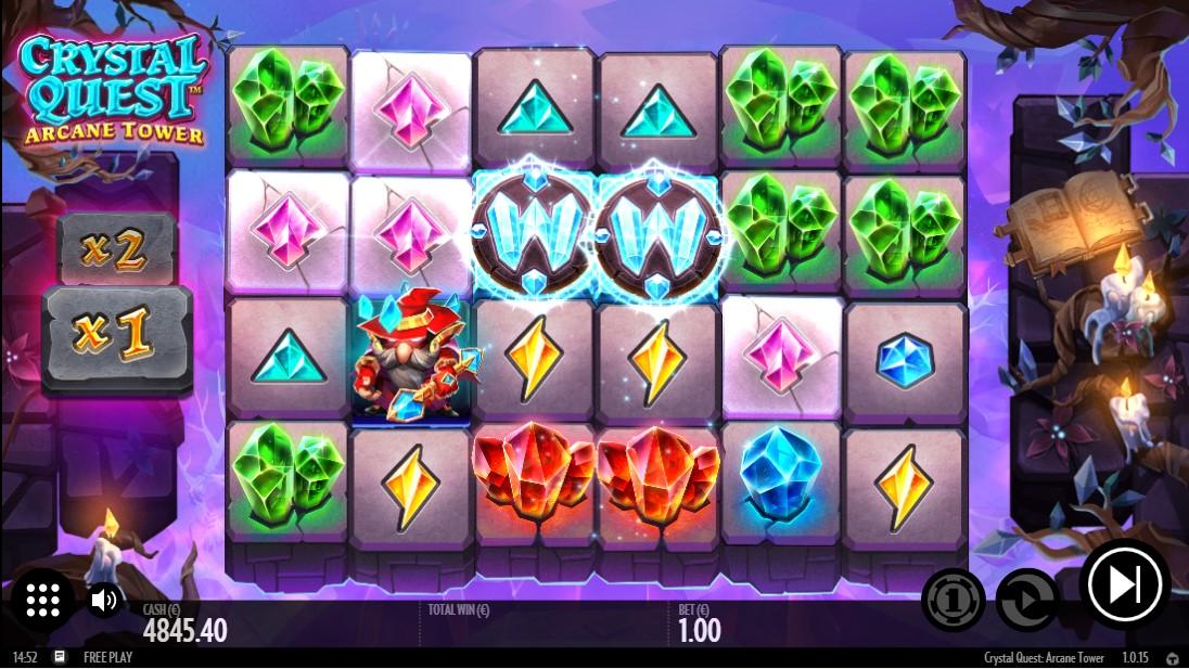 Crystal Quest Arcane Tower игровой автомат