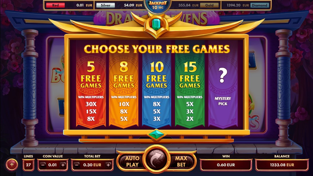 Бесплатный слот Dragon Sevens