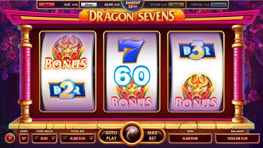 Слот Dragon Sevens играть онлайн