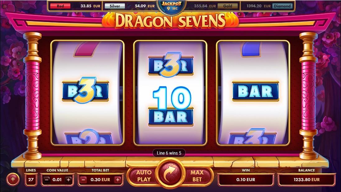 Игровой автомат Dragon Sevens