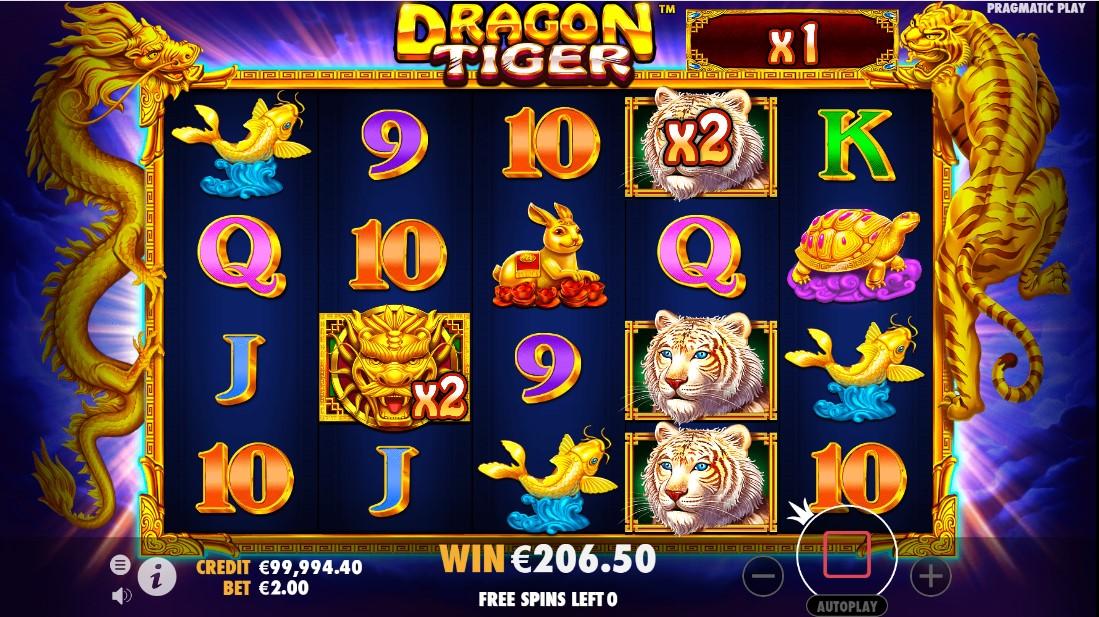 Dragon Tiger игровой автомат