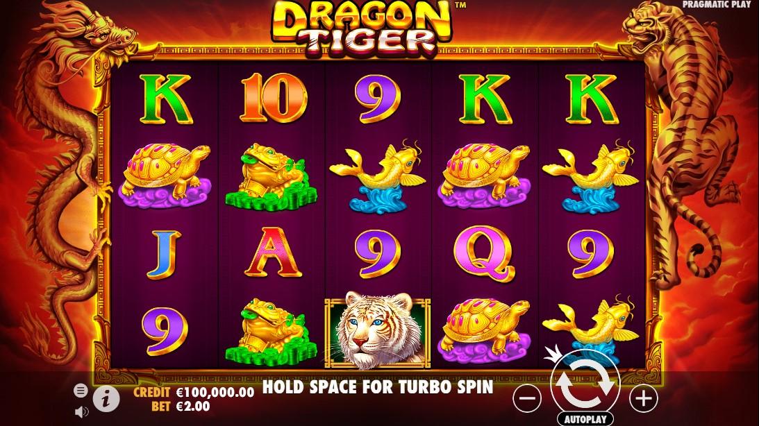 Dragon Tiger бесплатный слот