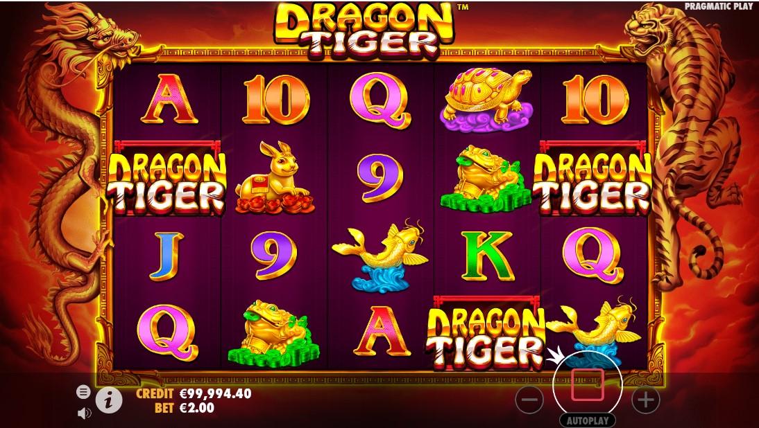Игровой автомат Dragon Tiger