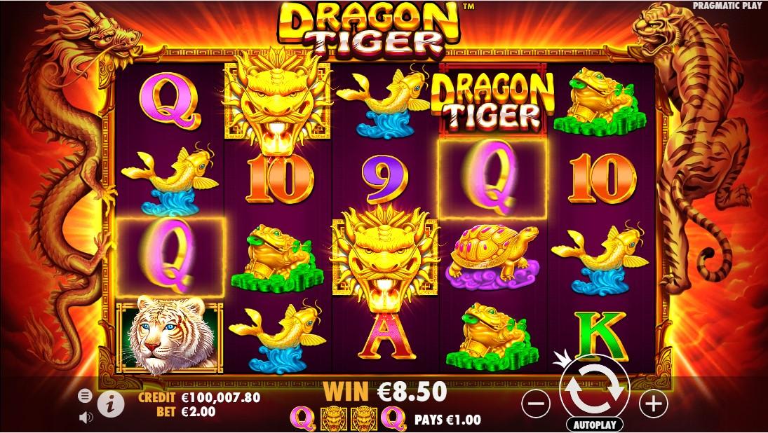 Dragon Tiger free slot