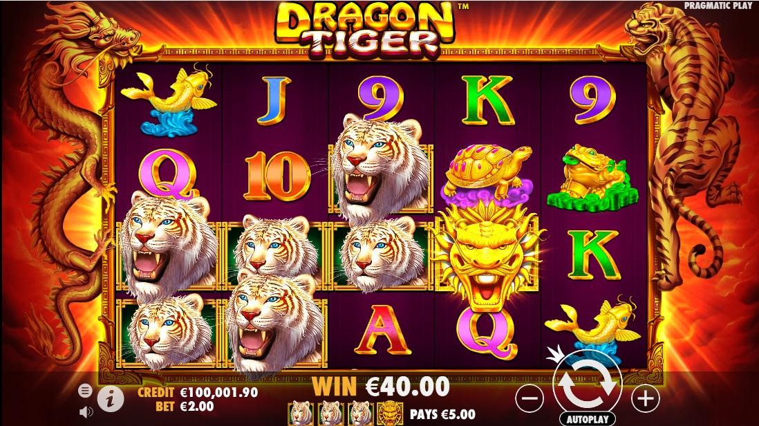 Слот Dragon Tiger играть