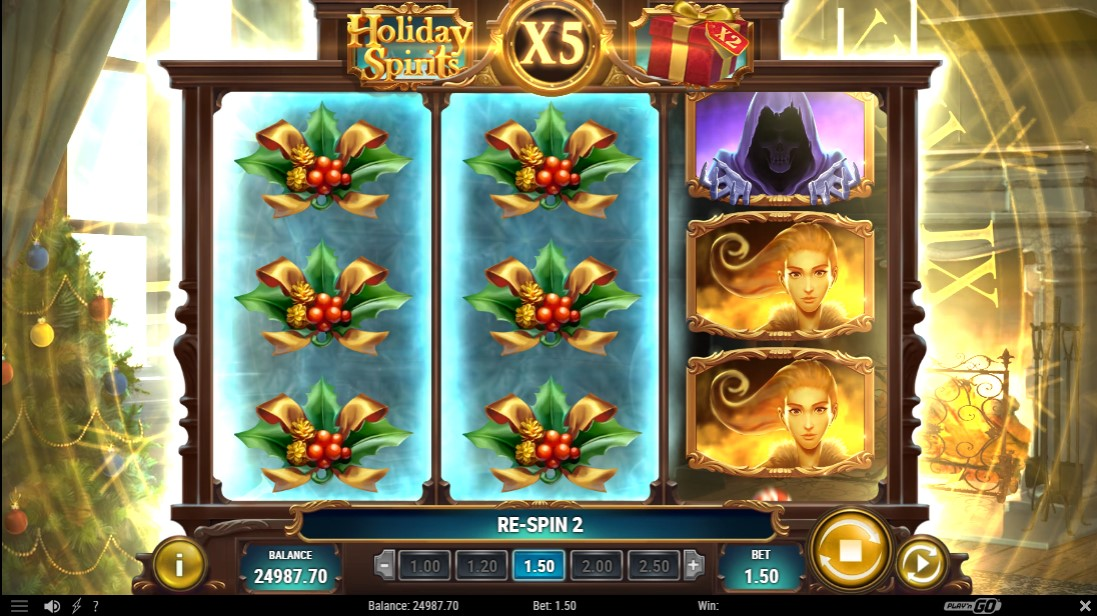Holiday Spirits игровой автомат