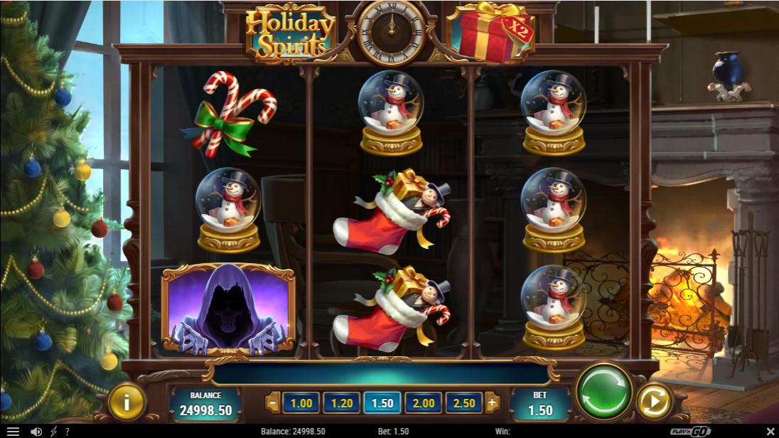 Holiday Spirits онлайн слот