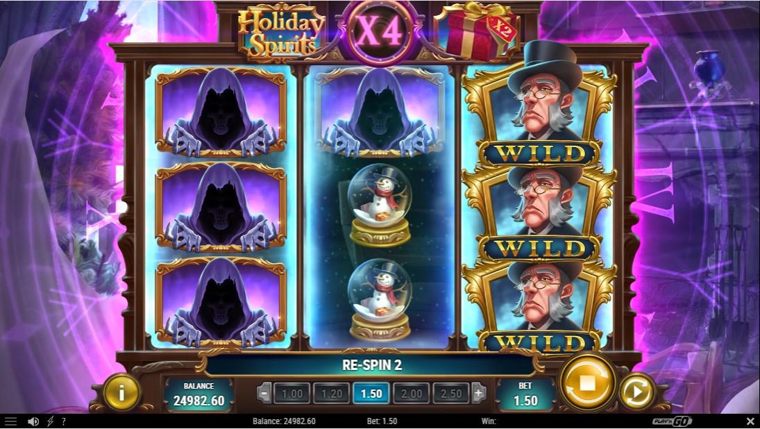 Holiday Spirits free slot