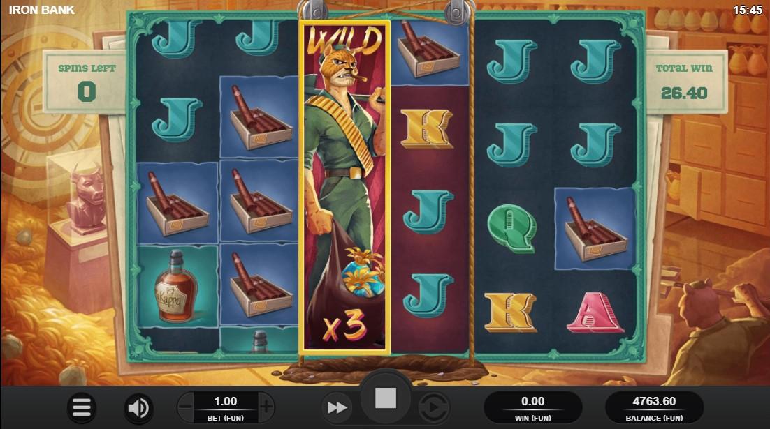 Iron Bank игровой автомат