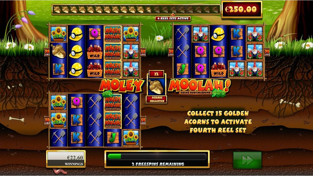 Moley Moolah игровой автомат