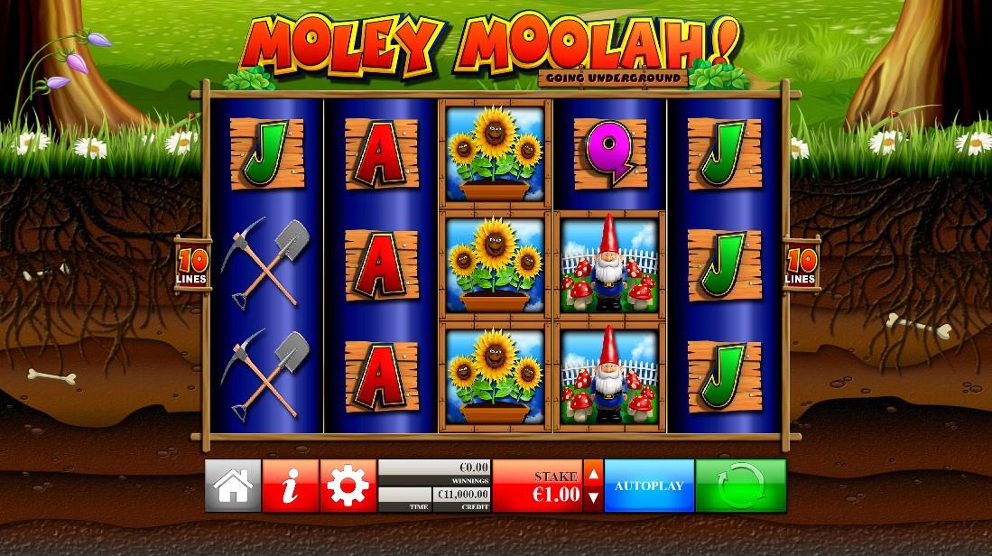 Слот Moley Moolah играть