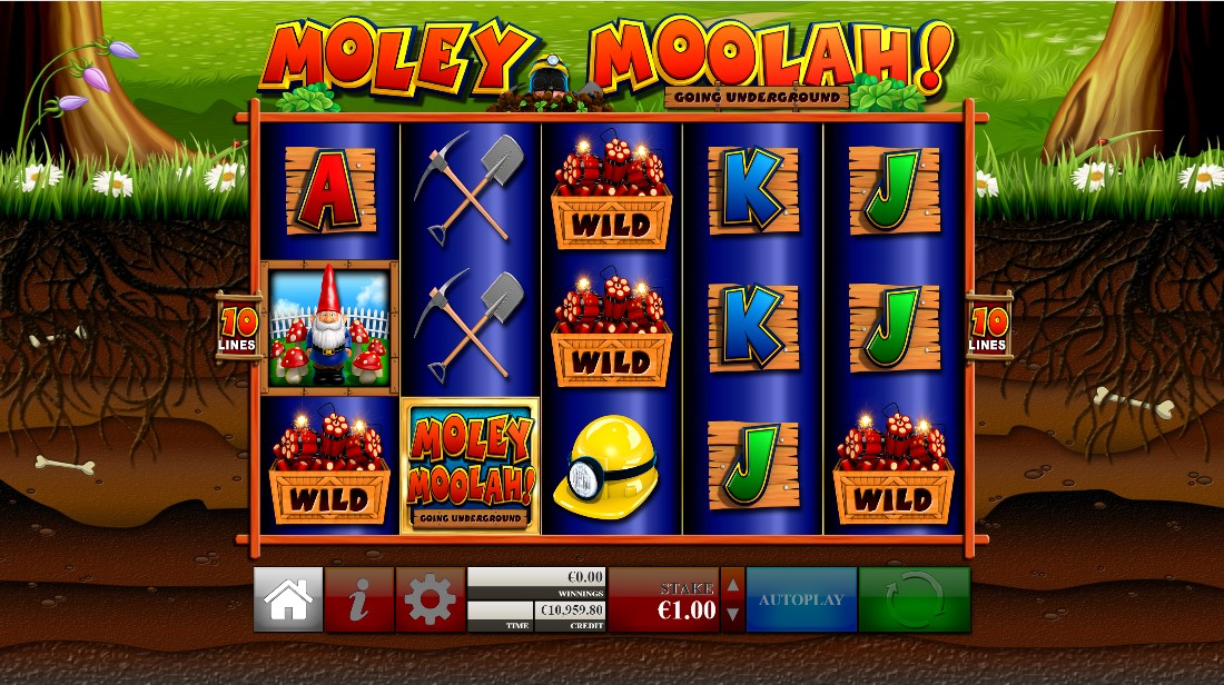 Moley Moolah free slot