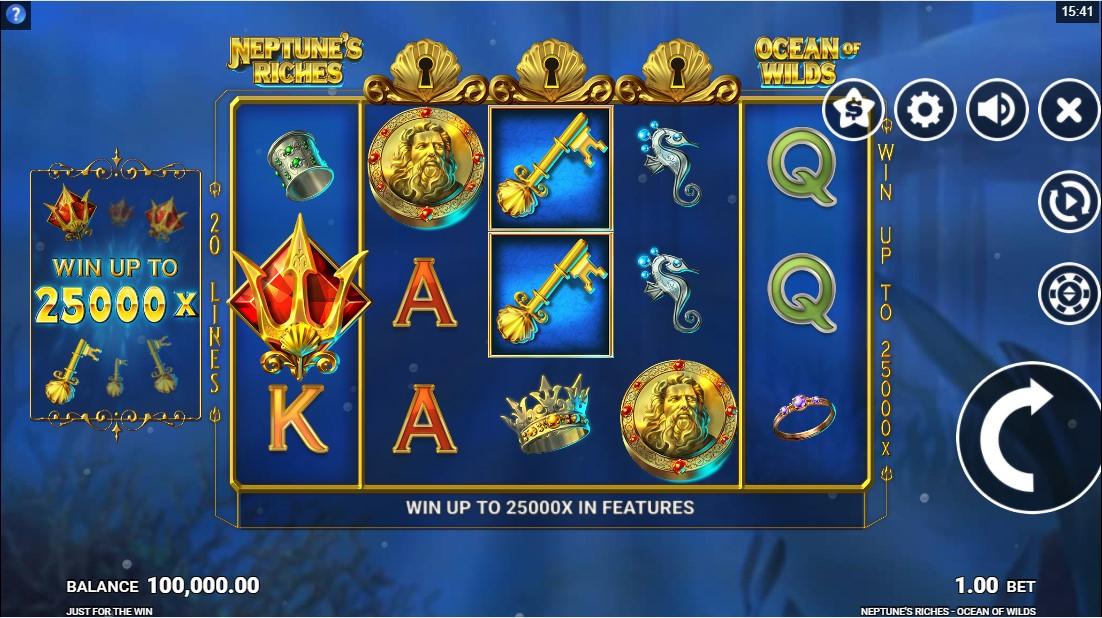Neptune's Riches Ocean of Wilds игровой автомат
