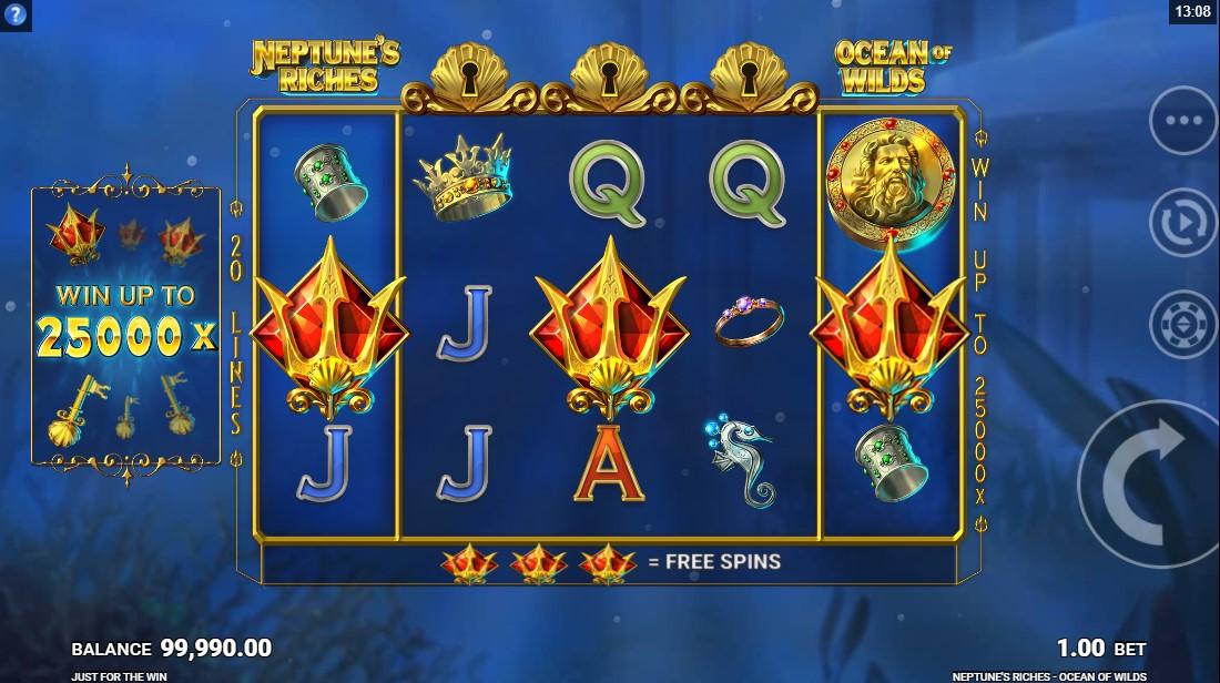 Слот Neptune's Riches Ocean of Wilds играть