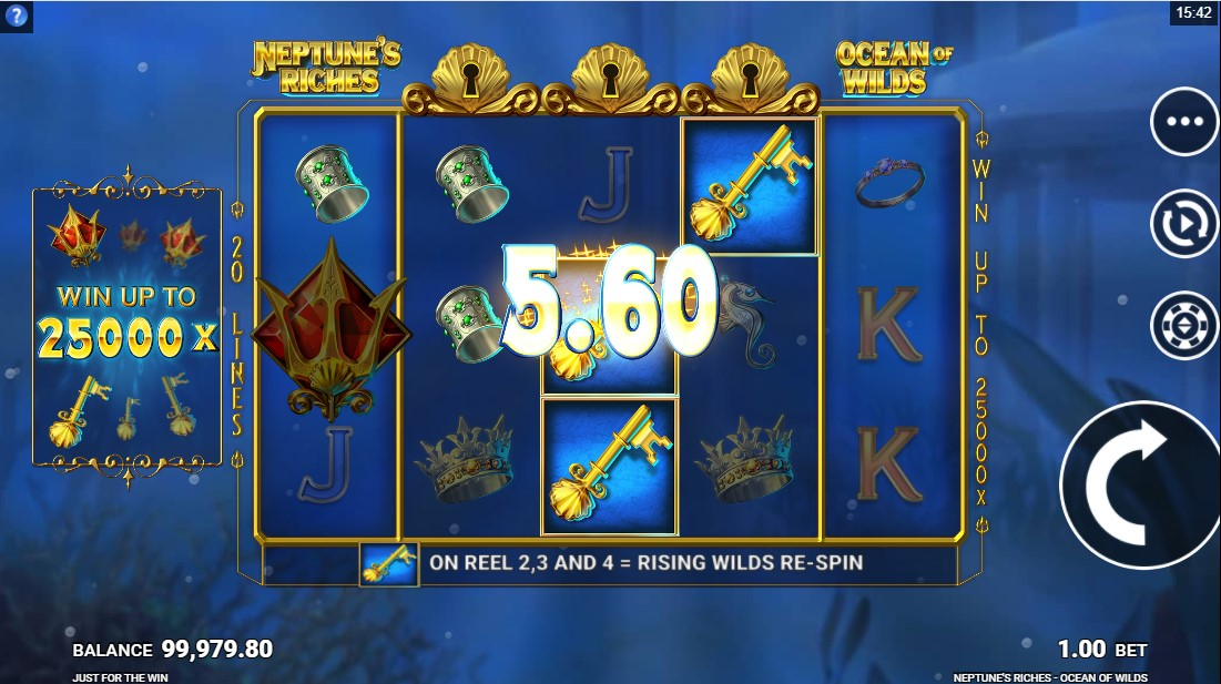 Neptune's Riches Ocean of Wilds онлайн слот