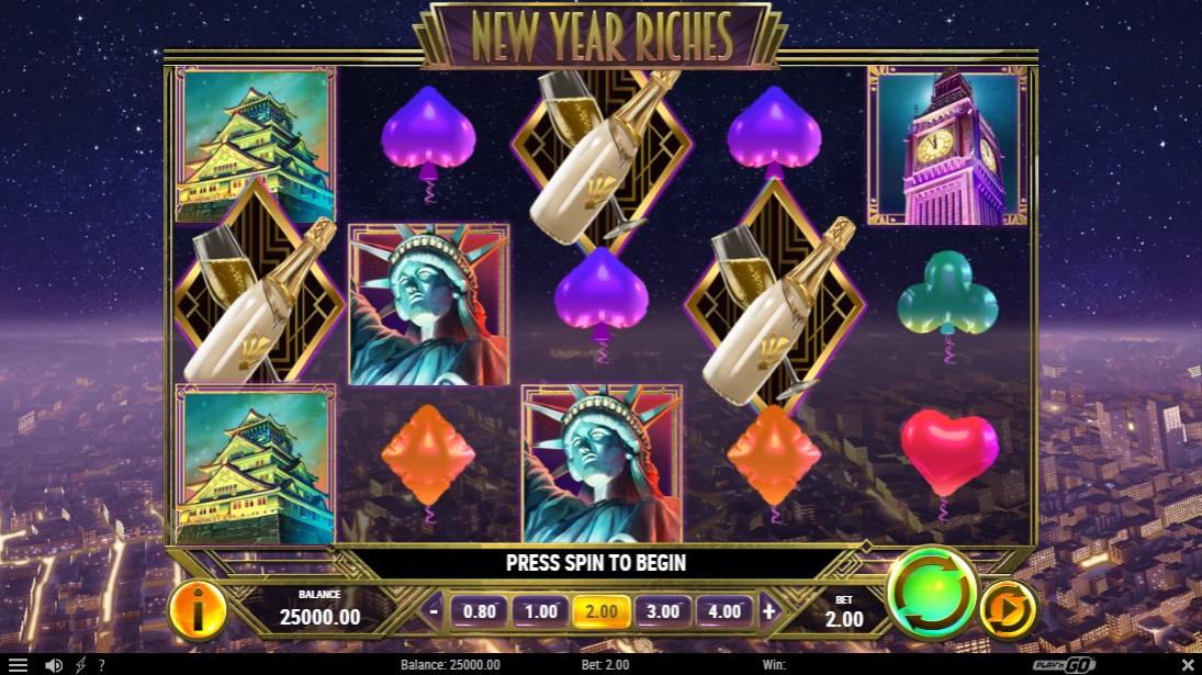 New Year Riches онлайн слот