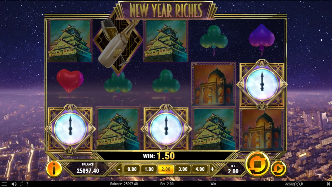 New Year Riches free slot