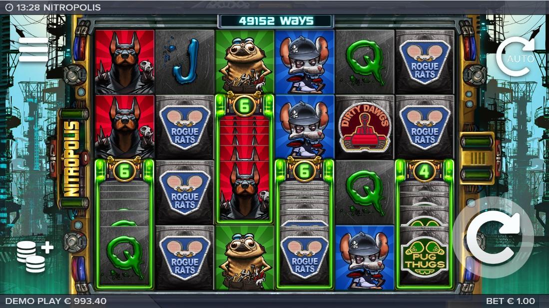 Nitropolis игровой автомат