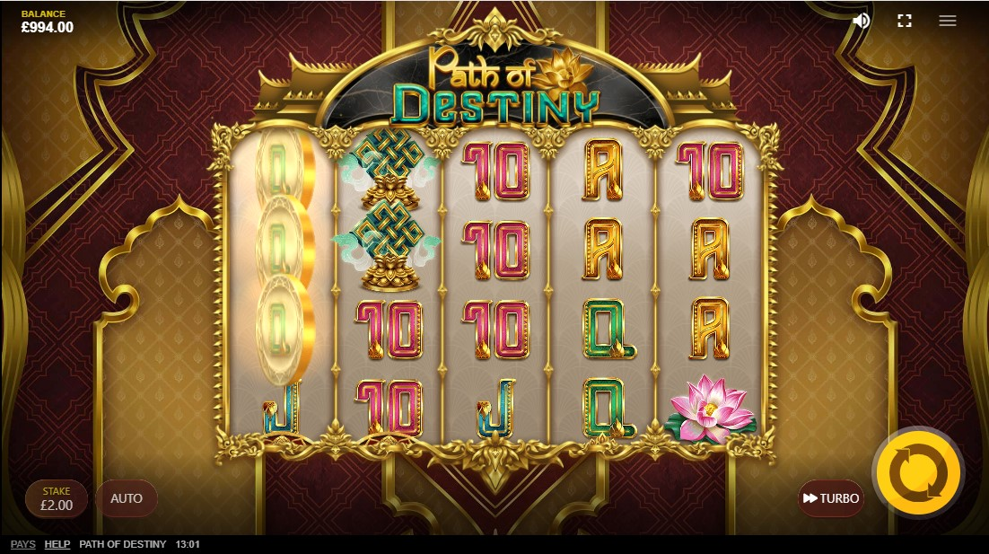 Path of Destiny free slot