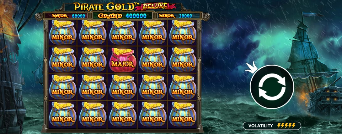 Играть Pirate Gold Deluxe бесплатно