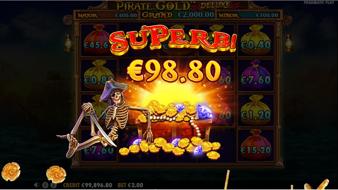 Pirate Gold Deluxe free slot