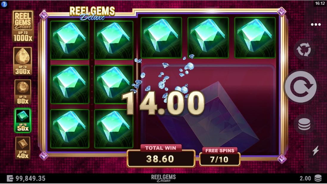 Reel Gems Deluxe игровой автомат