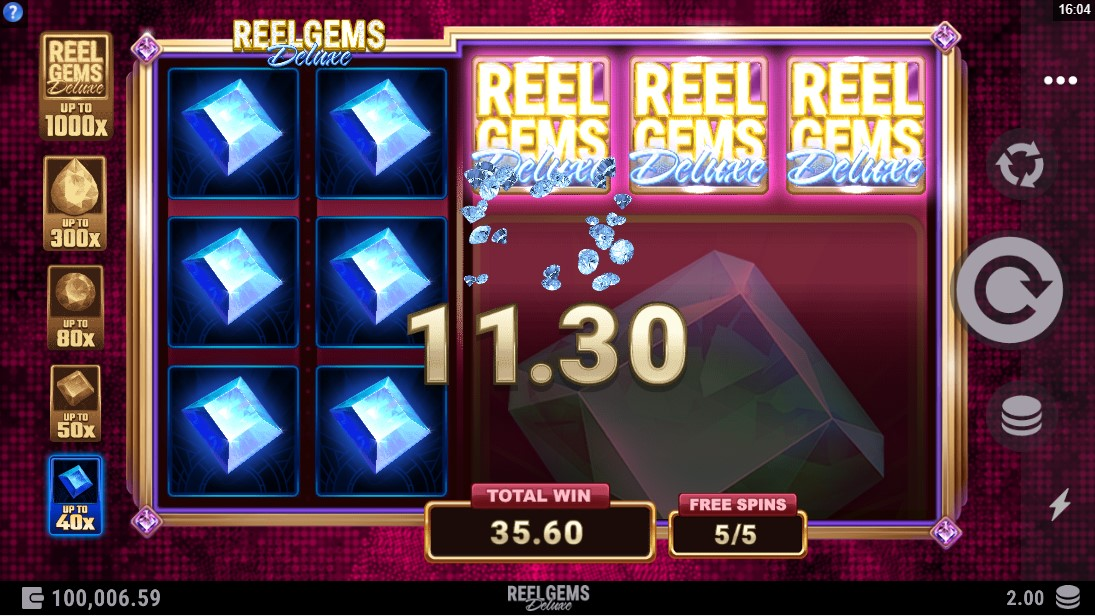 Reel Gems Deluxe онлайн слот