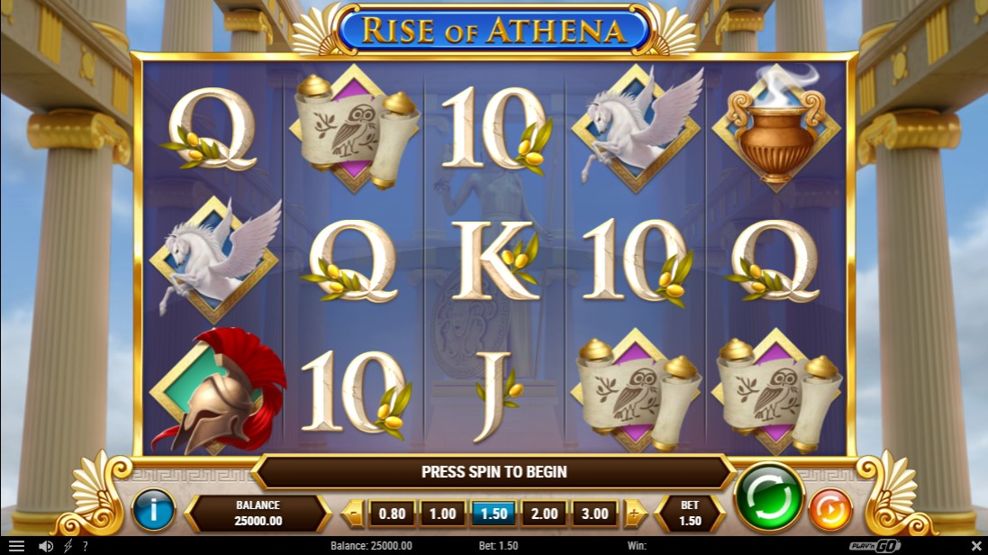 Rise of Athena free slot