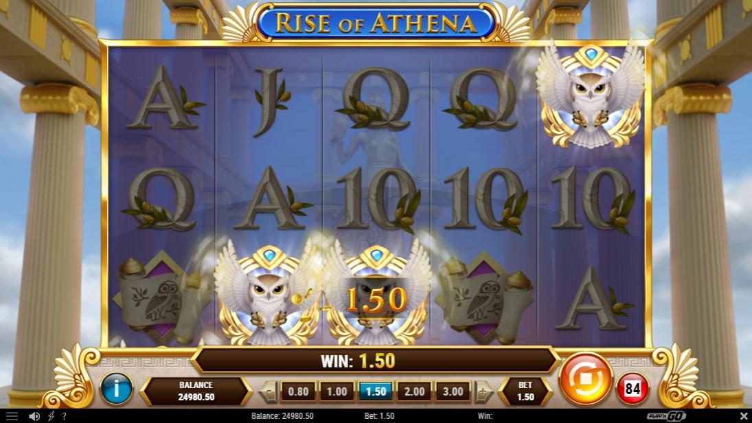 Rise of Athena бесплатный слот