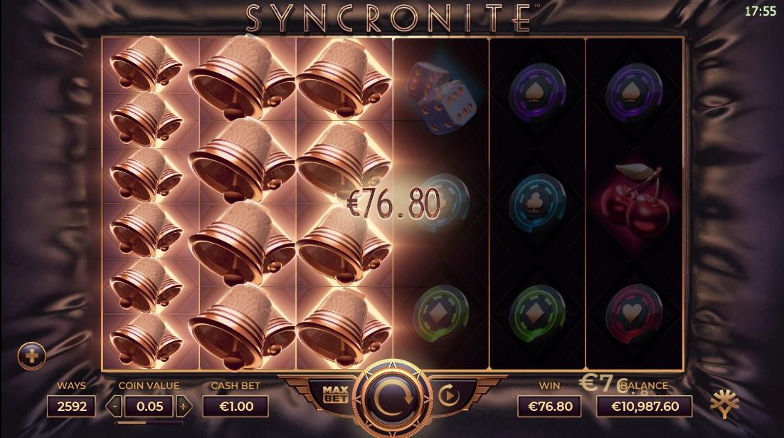 Syncronite Splitz игровой автомат