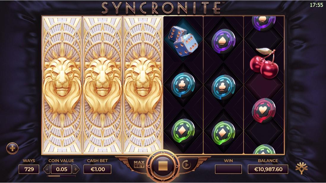Syncronite Splitz free slot