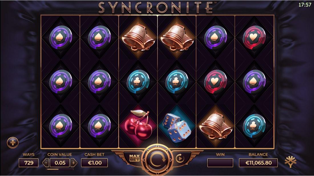 Syncronite Splitz бесплатный слот