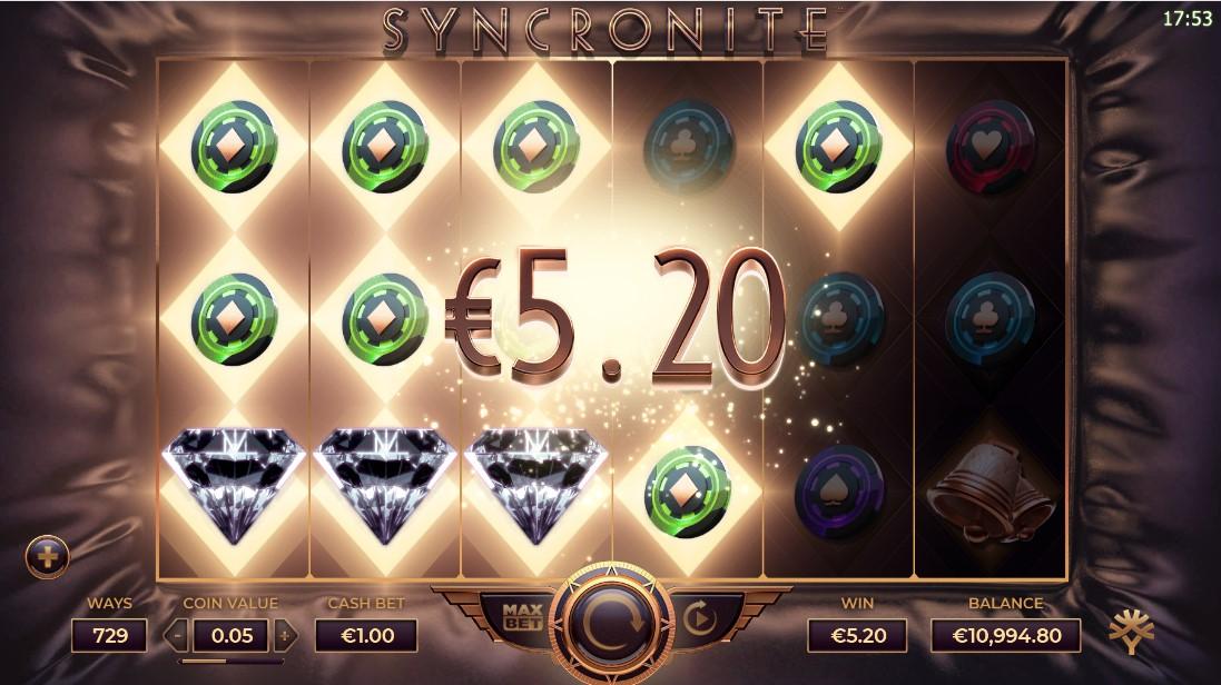 Слот Syncronite Splitz играть