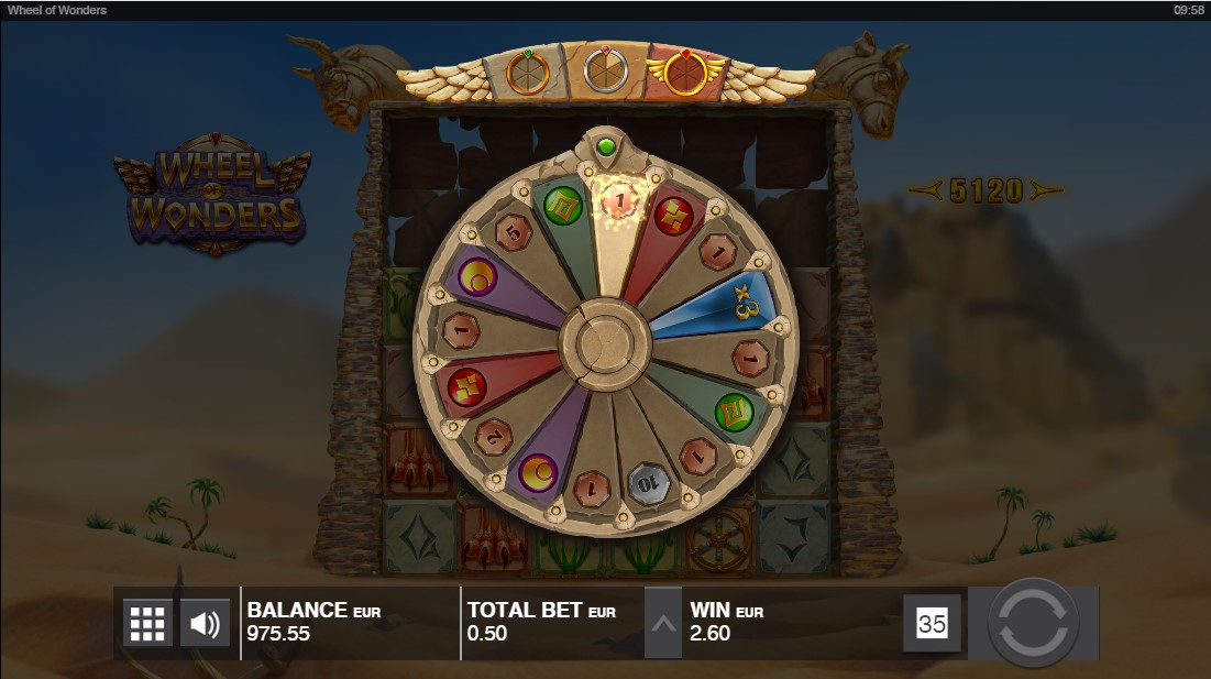 Игровой автомат Wheel of Wonders