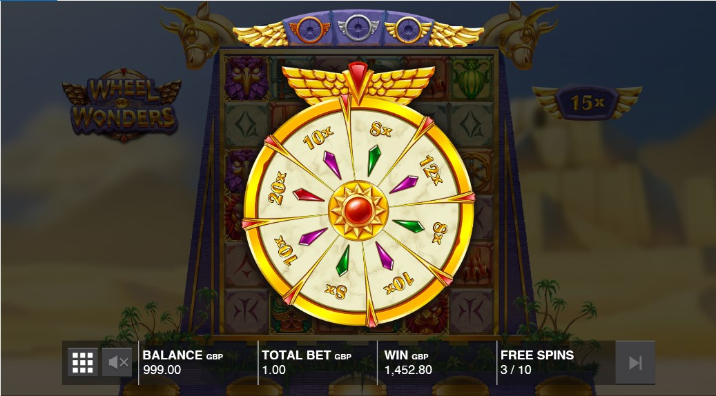 Wheel of Wonders free slot