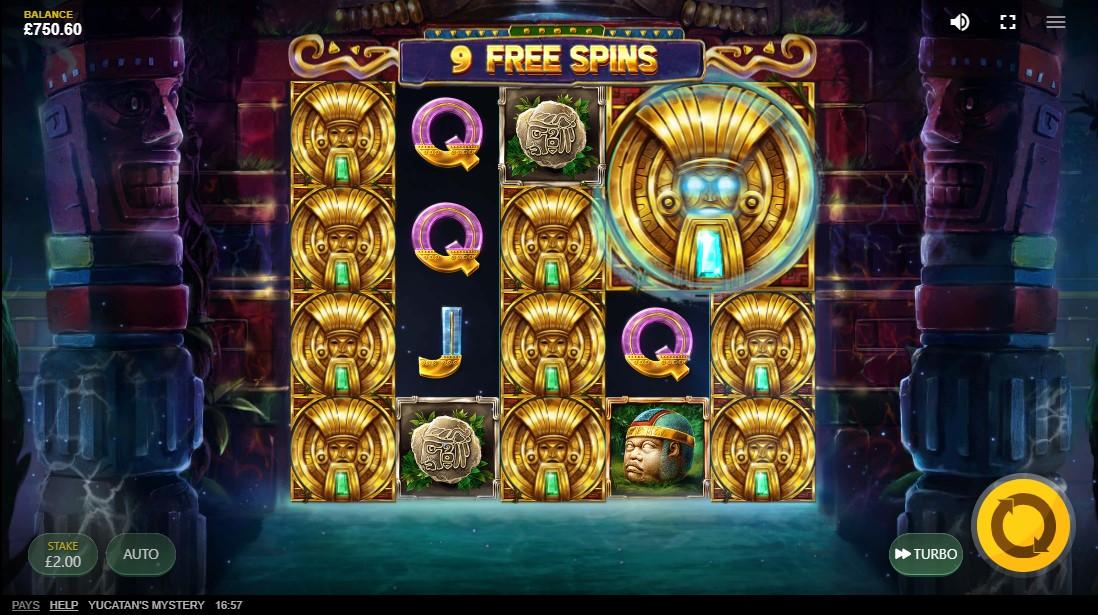 Yucatan's Mystery игровой автомат