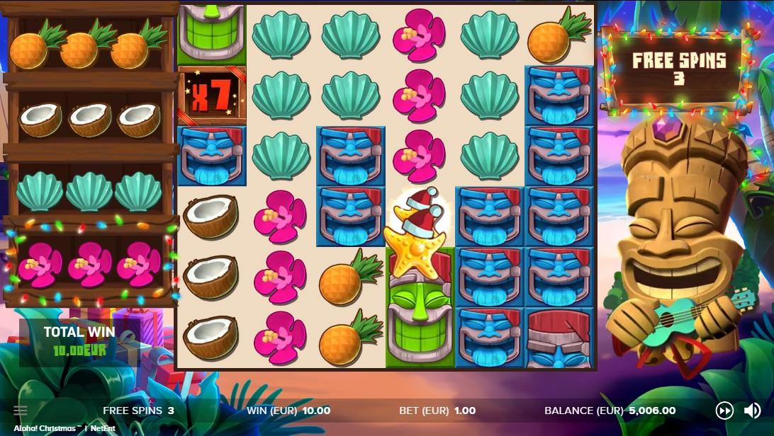 Aloha! Christmas онлайн слот