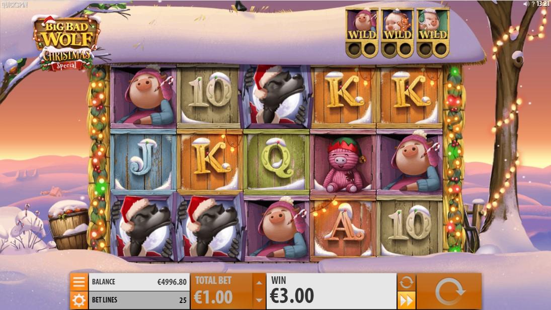 Big Bad Wolf Christmas Spe игровой автомат