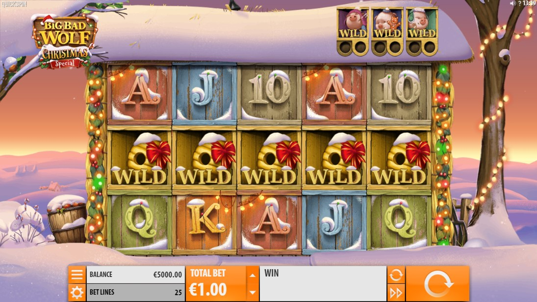 Free slot Big Bad Wolf Christmas Spe