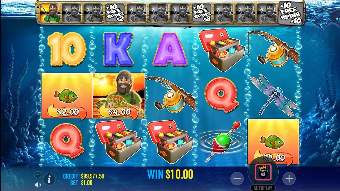 Big Bass Bonanza игровой автомат