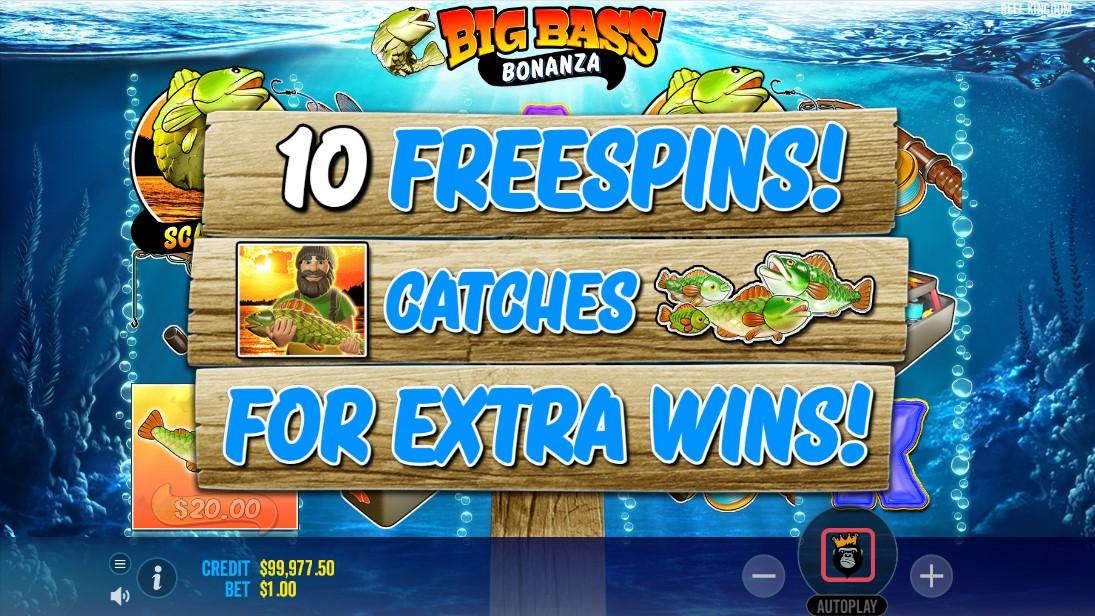 Free slot Big Bass Bonanza